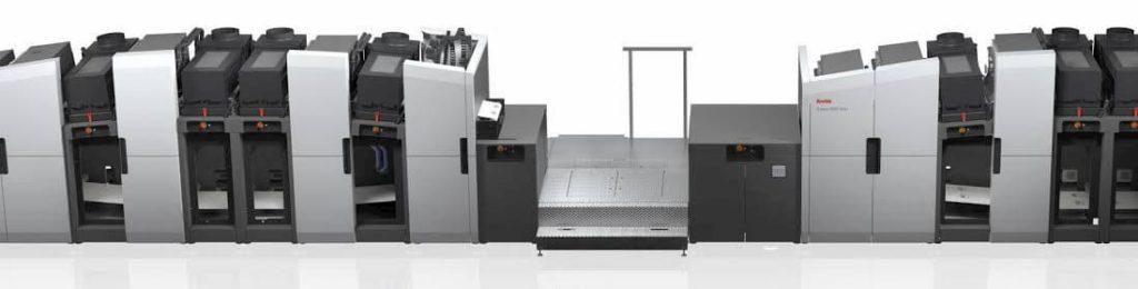 digital printing press kodak used by printing companies